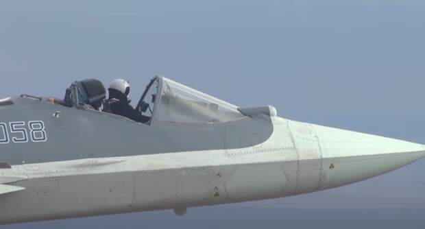 Полет на Су-57 без купола впечатлил американского эксперта
