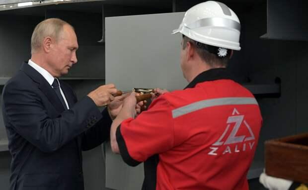 Путин сообщил о планах на новые корабли