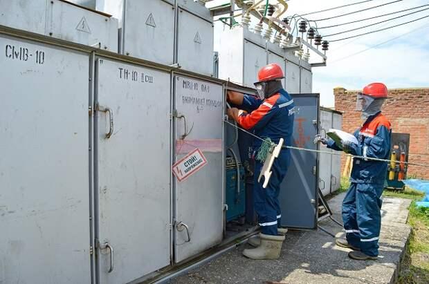 Ремонт двух крупных питающих центров позволит повысить надежность электроснабжения 15 тысяч кубанцев