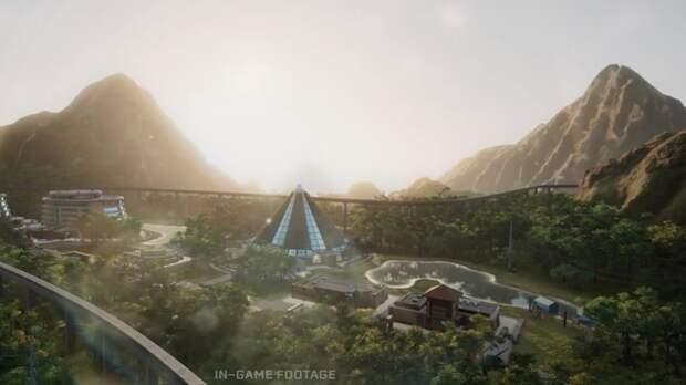 Реалистичную графику с впечатляющей дальностью прорисовки показали в трейлере Jurassic World Evolution на игровом движке