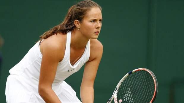 Касаткина вышла во второй круг турнира в Парме
