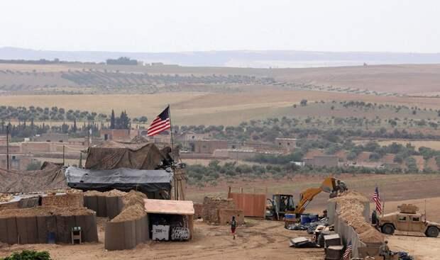 Военная база США подверглась ракетному обстрелу в Сирии