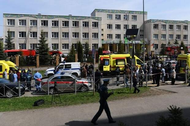 СМИ рассказали о хронологии событий во время стрельбы в школе в Казани