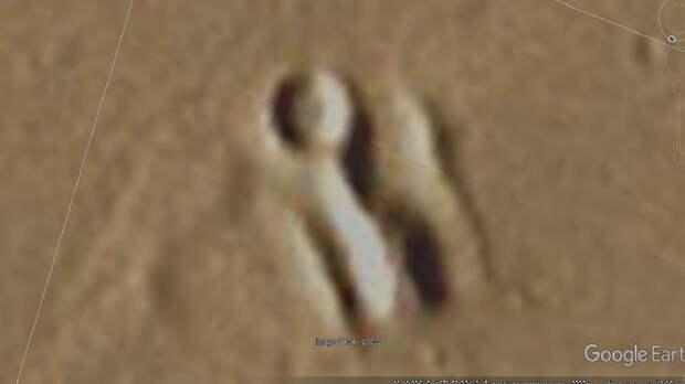 """Российский исследователь Валентин Дегтерев нашел на фото с Марса """"руины древнего города"""""""