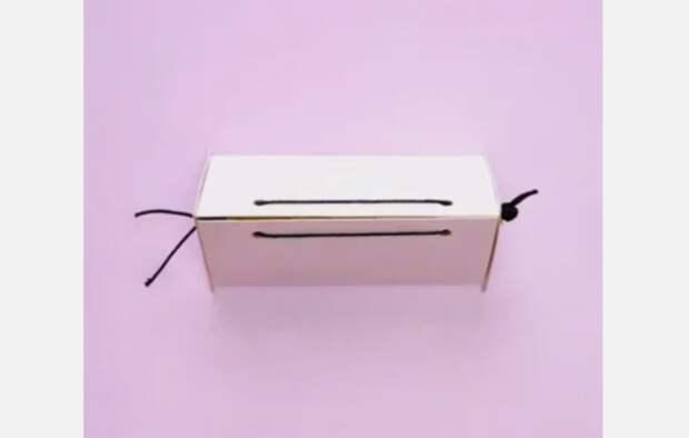 Оригинальная коробочка для подарка Diy