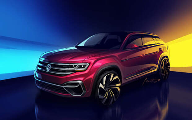 Volkswagen Teramont получит купеобразную версию