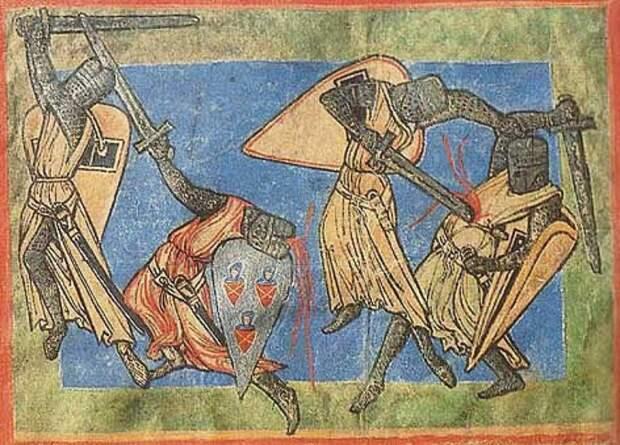 Слезы Рыцаря: штрихи к представлениям о мужественности в средневековых рыцарских романах