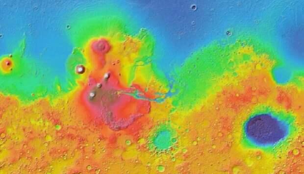 Разработан интерактивный сервис Google Mars, позволяющий исследовать Красную планету