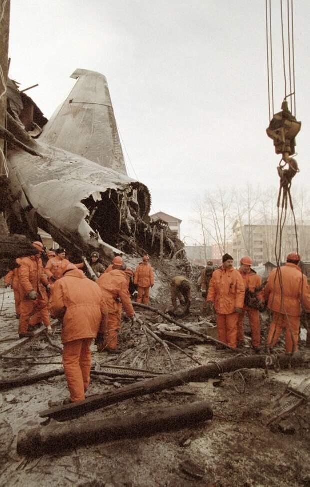 """Катастрофа Ан-124 в Иркутске 6 декабря 1997 года Ан-124 """"Руслан"""", иркутск, катастрофа, происшествия"""