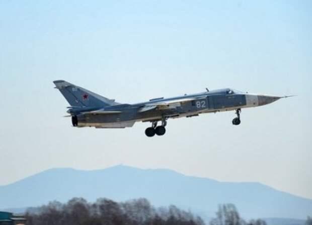 ВКС России потеряли бомбардировщик Су-24, пилоты живы