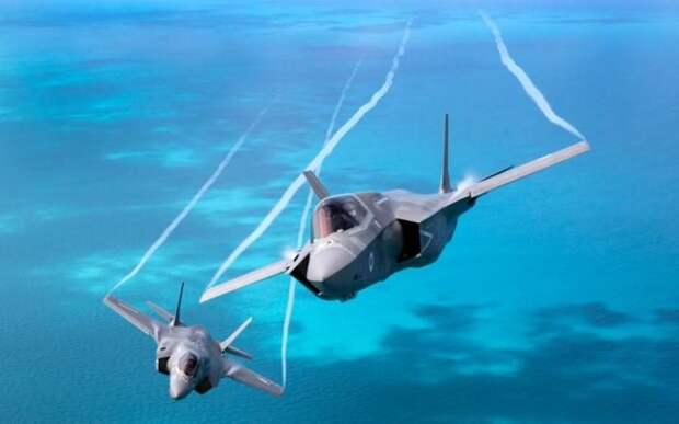 Истребители-бомбардировщики F35B