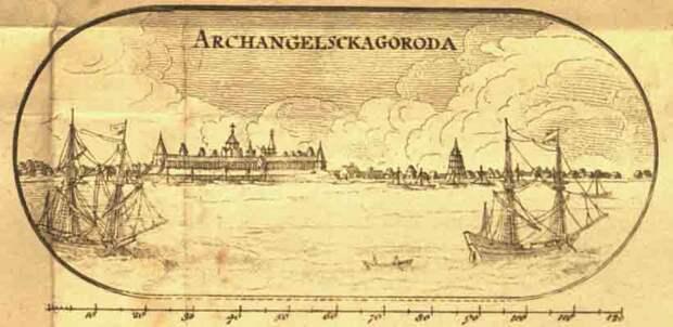 Архангельск XVI века в описании французского путешественника Жана Соважа. 1586