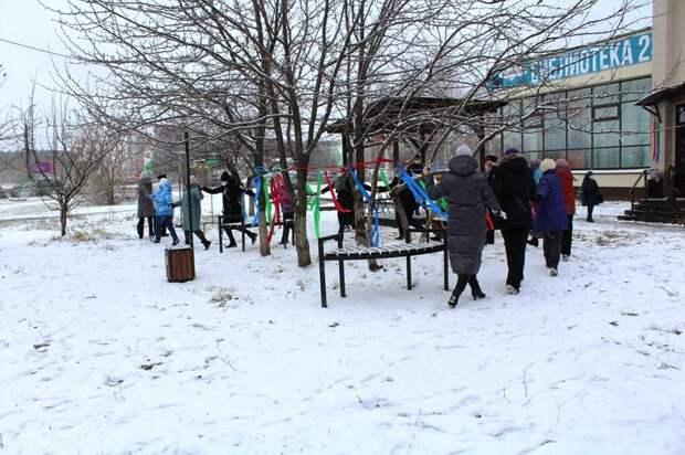 Библиотечный сквер открылся в Устиновском районе Ижевска