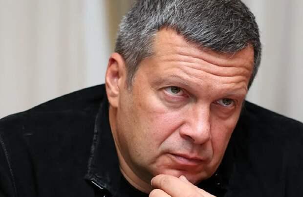 Соловьев назвал фамилии россиян, кто подкинет денег сбежавшему на Украину актеру Пашинину