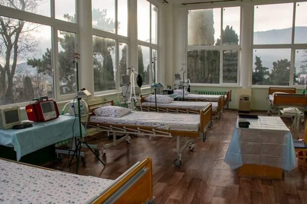 В Ялте военных врачей из полевого госпиталя переселяют в санаторий