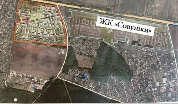 Земельный участок между селами ЯриЕмбаево вТюмени продают почти замиллиард рублей