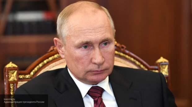 Путин: РФ заинтересована в объективном расследовании инцидента с Навальным