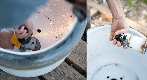 Выброшенная стиральная машина: превращаем в шикарный гриль