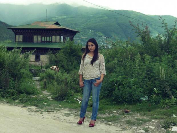 Девушка из Бутана
