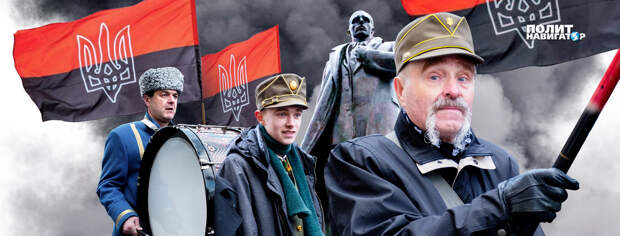 Накануне 80-й годовщины провозглашения бандеровского акта о коллаборации с Гитлером делегация Института национальной памяти...