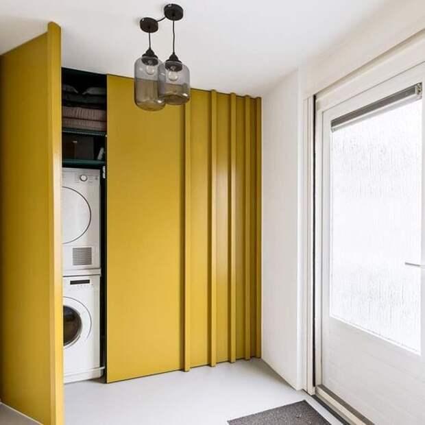 Куда спрятать стиральную машину дома
