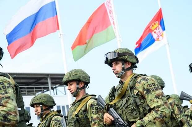 Совместные учения десантников России, Белоруссии и Сербии начались под Новороссийском