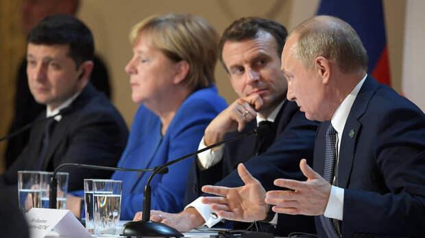 Украина-2021: Зеленского опять нагибают к стойлу покорности