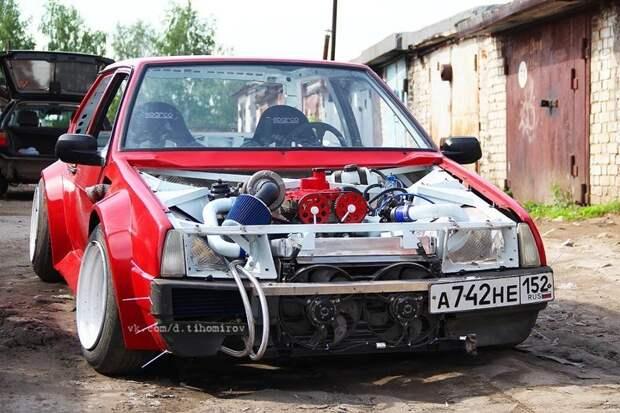 LADA 2108 V8 автомобили, машины, советские авто, тюнинг