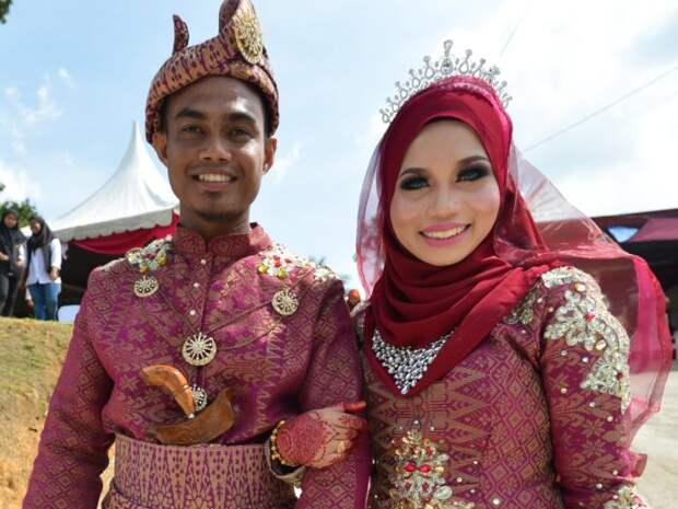 Свадьба в Малайзии. Автор: NurPhoto.