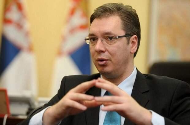Сербия Вучич