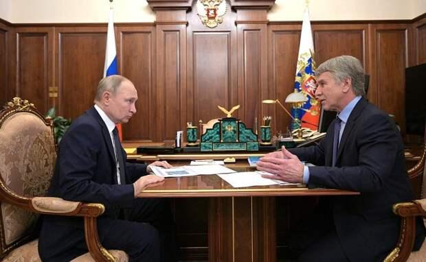 Путин оценил вклад «Новатэка» в«зеленую» энергетику ввиде СПГ-заправок