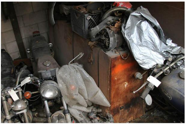 Находка из американской фирмы по продаже и ремонту мотоциклов