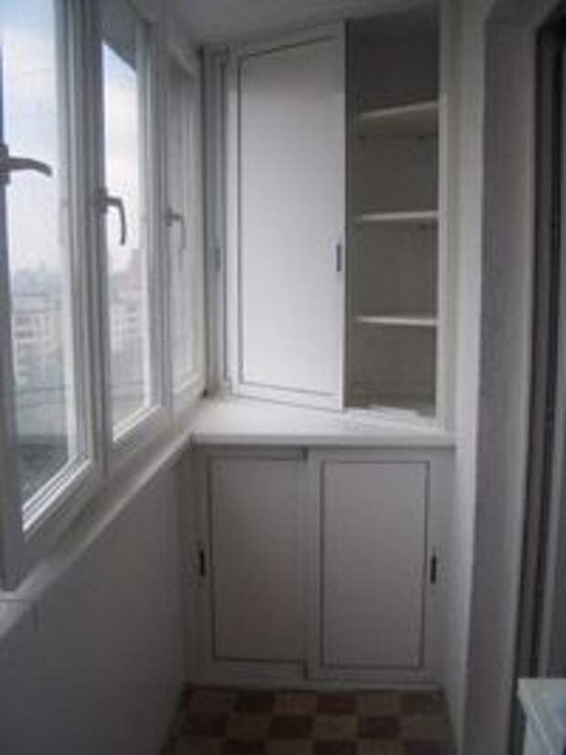 Хранение на балконе: десятки идей