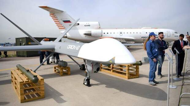 РФ получила 15 заявок на поставку за рубеж ударных дронов «Орион»