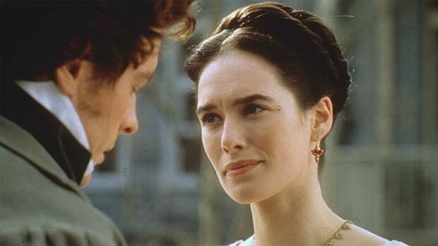 Кадр из фильма «Онегин»