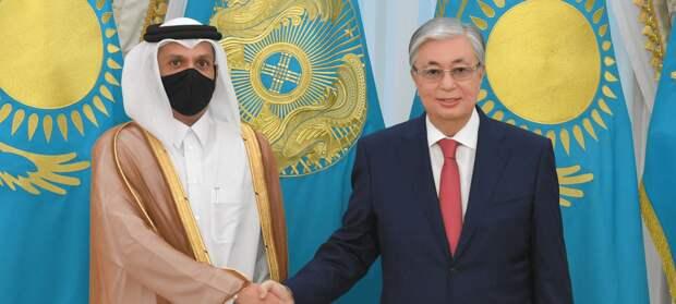Токаев принял главу МИД Катара