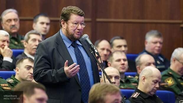 Сатановский рассказал, почему США не могут спасти Европу от «кинжала» России