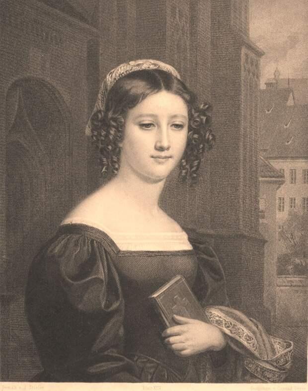 """""""Галерея красоты"""" - гравюры 19 века."""
