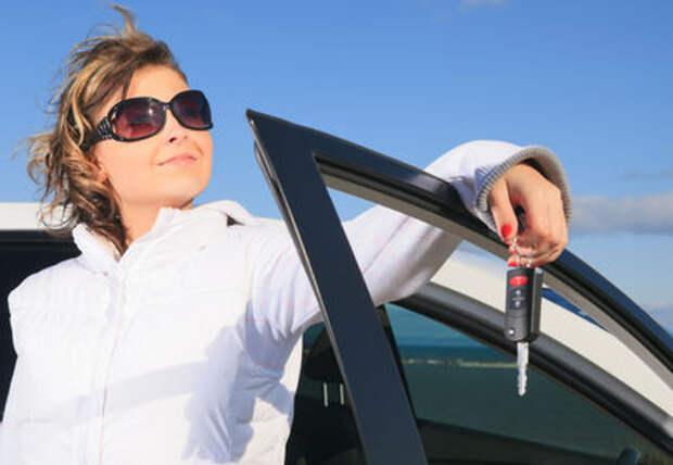 Женщины-водители попадают в аварии чаще мужчин