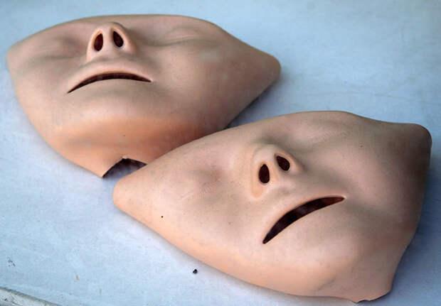 Лицо манекена для обучения реанимации оказалось копией лица утопленницы 19 века