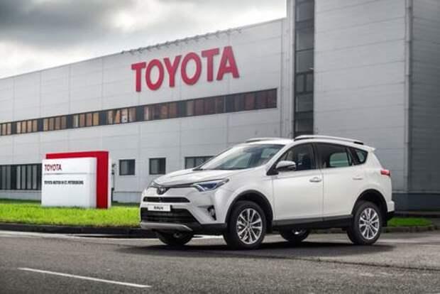 В России стартовал выпуск кроссовера Toyota RAV4