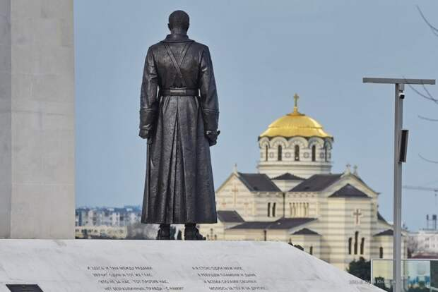 Рекордный, пятый, Вечный огонь в Севастополе!