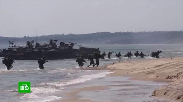 Командующий войсками НАТО сравнил учения у границ РФ с вторжением в Нормадию