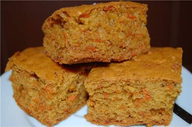 Очень,очень-очень вкусный морковный пирог!