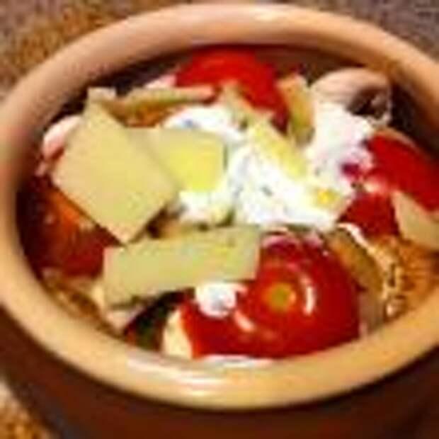 Говядина с овощами, запеченная в горшочках шаг 4