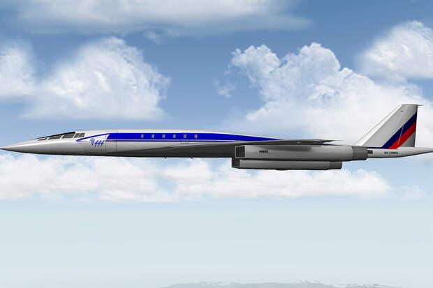 Амбициозный проект нового сверхзвукового авиалайнера обречен на провал