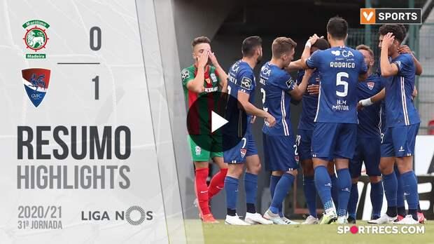 Highlights: Marítimo 0-1 Gil Vicente (Liga 20/21 #31)