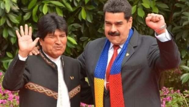 Алексей Мельников: На Кубу или в Венесуэлу Моралес не побежал