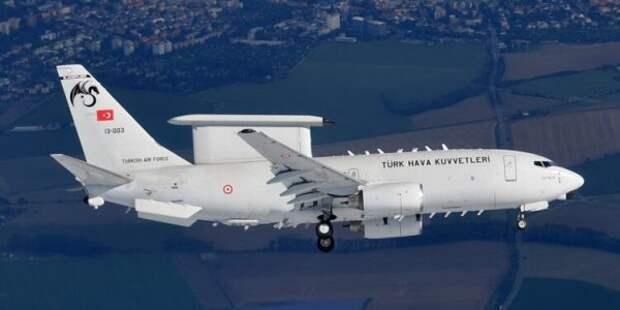 Турецкий самолëт-разведчик впервые выполнил миссию внебе союзника поНАТО