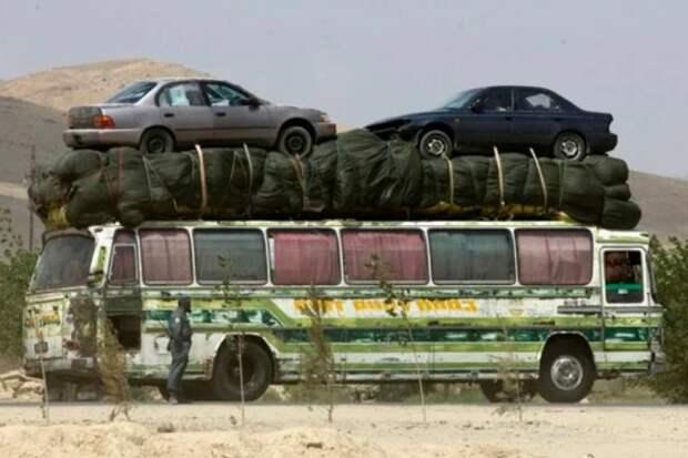 Самые невероятные автоперевозки